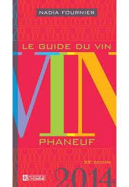 Le Guide du Vin Phaneuf 2014